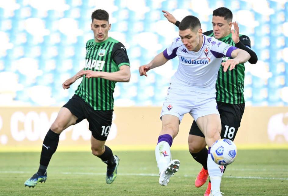 ฟุตบอลกัลโช ซีเรียอา  ซาสซูโอโล่ พบ ฟิออเรนติน่า1