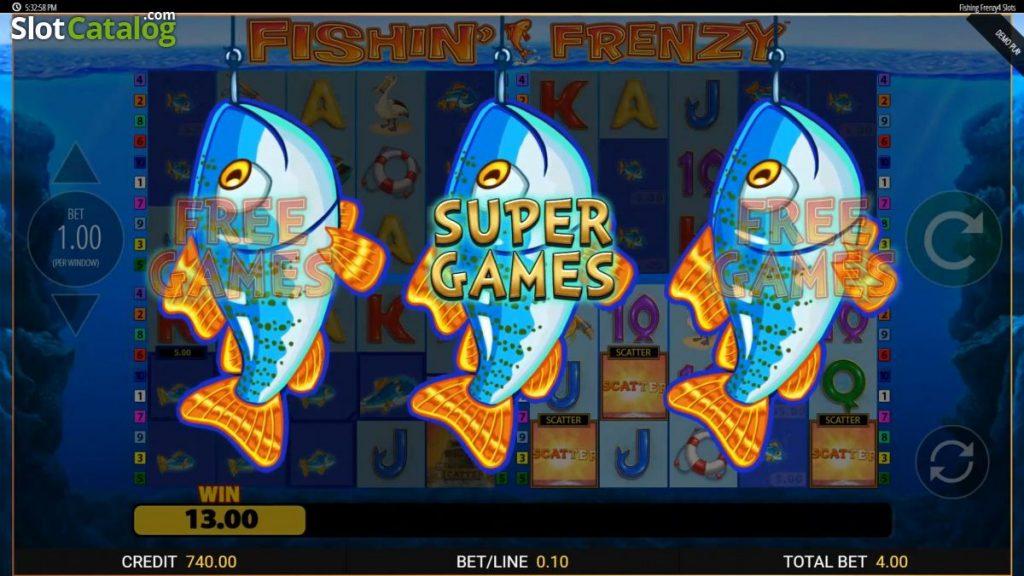 Fishin Frenzy Slot